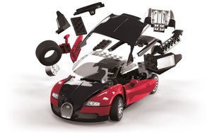 Airfix QuickBuild Snap Bugatti Veyron Red & Black J6020