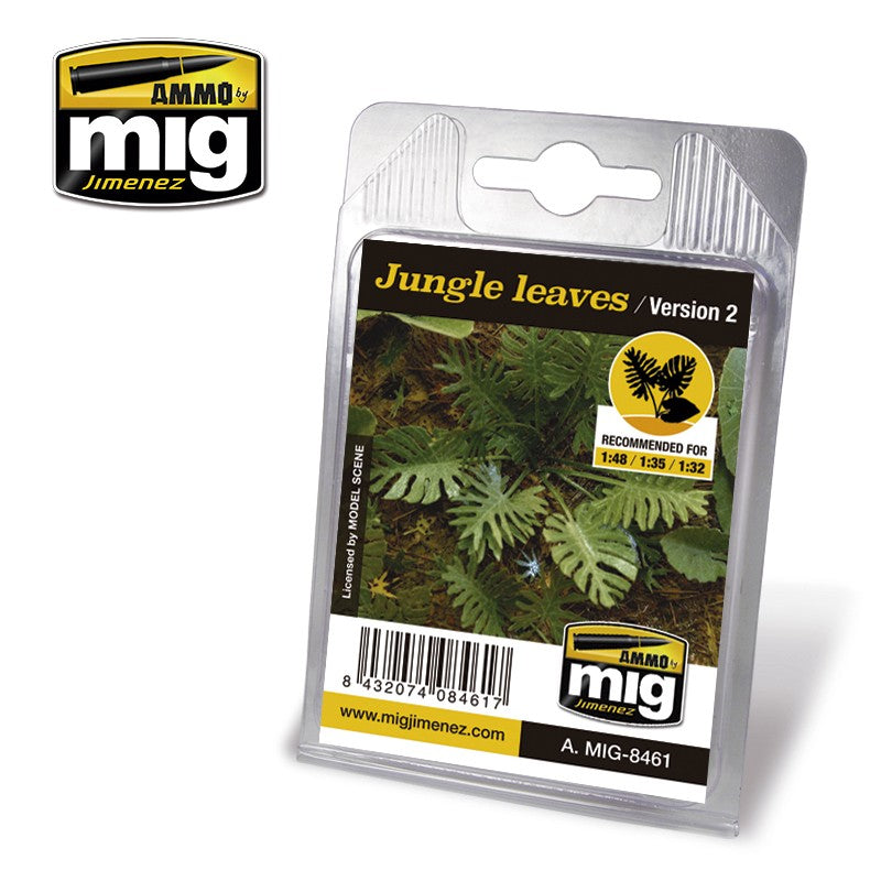 Ammo by Mig AMIG8461 Jungle Leaves Version 2