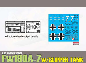 Dragon 1/48 German Fw190A-7 w/Slipper Tank 5545