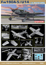 Load image into Gallery viewer, Dragon 1/48 German Fw190A-5/U14 Master Series 5569