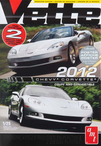 AMT 1/25 Chevy Corvette 2012 Coupe and Convertible (2 Complete Kits) AMT786L