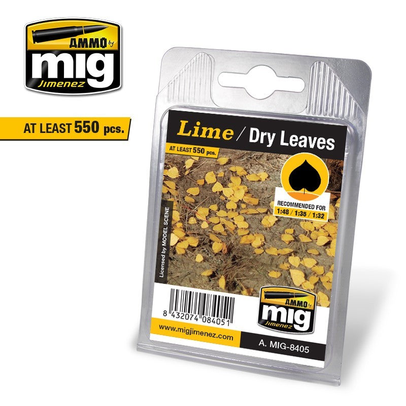 Ammo by Mig AMIG8405 Leaves Lime - Dry Leaves