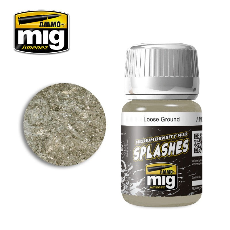 Ammo by Mig AMIG1752 Splashes - Loose Ground