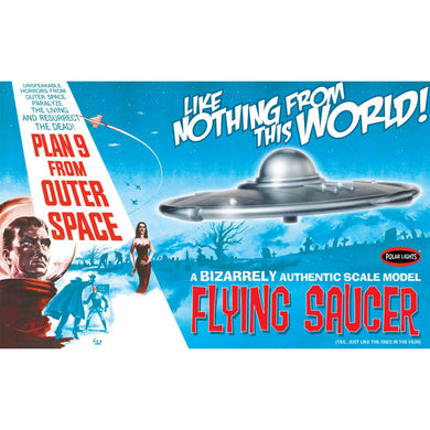 Polar Lights 1/48 UFO Flying Saucer from Plan 9 Outer Space Film 970