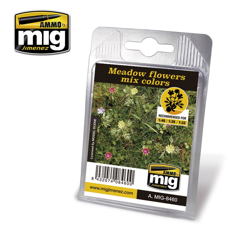 Ammo by Mig AMIG8460 Meadow Flowers Mix Colors