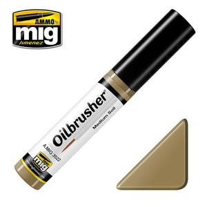 Ammo by Mig AMIG3522 Oilbrusher Medium Soil