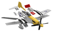 Load image into Gallery viewer, Airfix Quickbuild Snap P-51D Mustang J6016