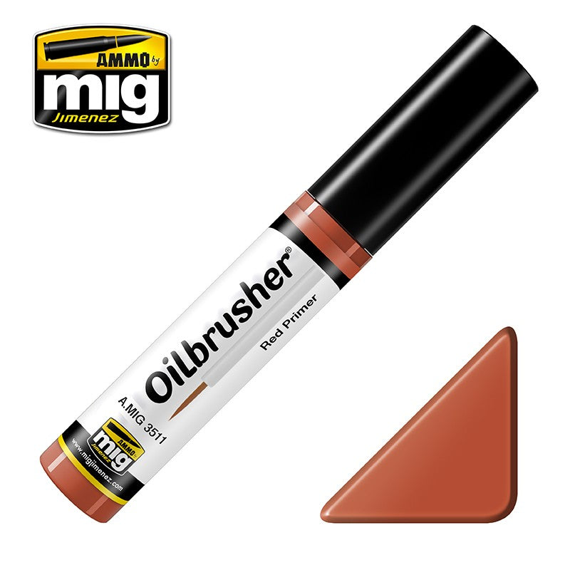 Ammo by Mig AMIG3511 Oilbrusher Red Primer