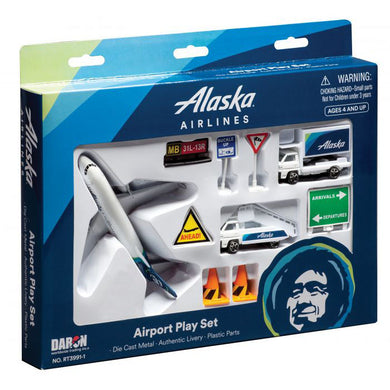 Daron Playset Alaska Airlines Airport RT3991-1