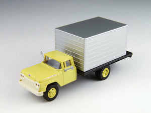 Classic Metal 1/87 HO Ford Box Truck 1960 Yellow Cab 30478