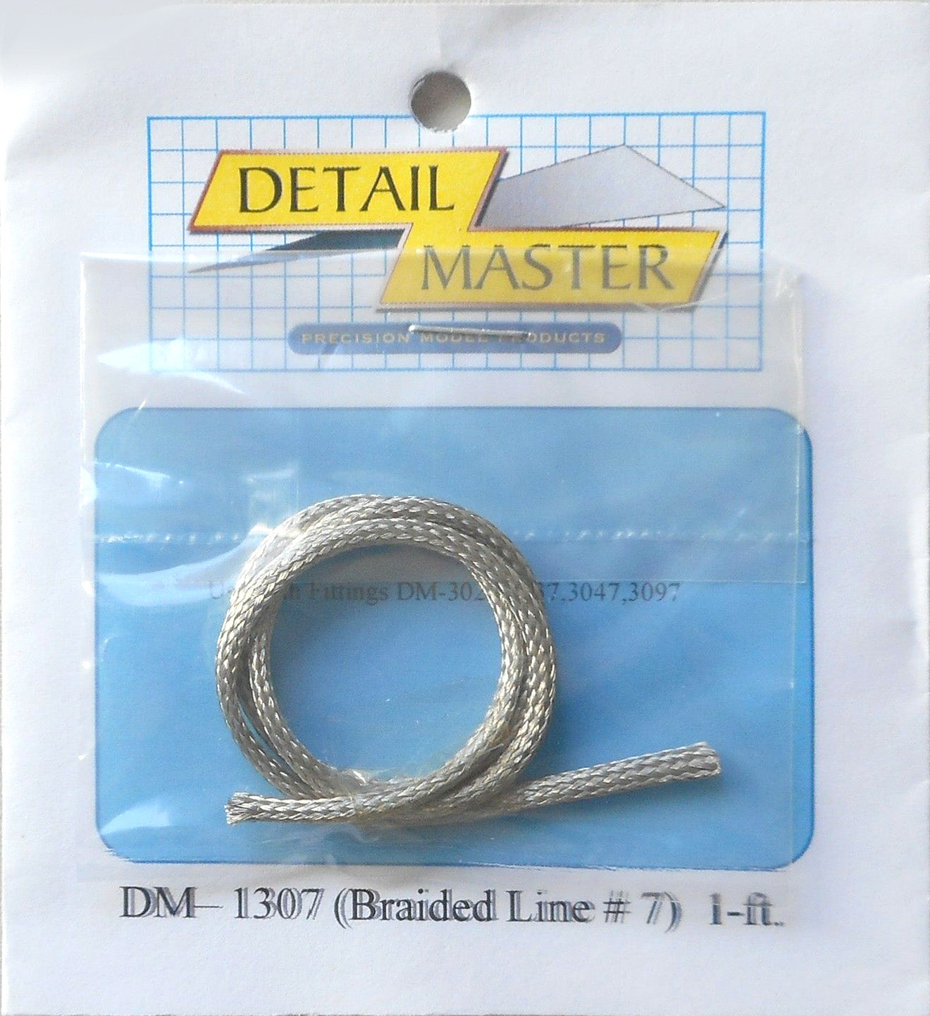 Detail Master 1/24 - 1/25 Braided Line #7 0.100