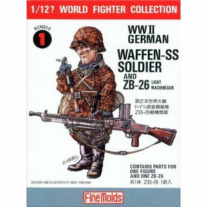 Finemolds 1/12 World Fighter Collection German Waffen-SS Soldier FT-01