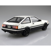 Load image into Gallery viewer, Aoshima 1/24 Toyota AE86 Corolla Levin White /Black Painted Body 05495