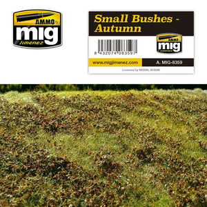 Ammo by Mig AMIG8359 Small Bushes - Autumn