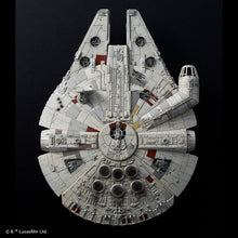 "Load image into Gallery viewer, Bandai Star Wars 1/144 Millennium Falcon ""Rise Of Skywalker"" 5058195"