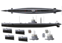 Load image into Gallery viewer, Das Werk 1/72 German WWI U-Boat SM U9 DW72001