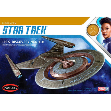 Polar Lights Star Trek 1/2500 USS Discovery NCC-1031 Snap Plastic Kit 961