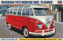 Load image into Gallery viewer, Hasegawa 1/24 Volkswage Type 2 Micro Bus 23-Window 1963 21210