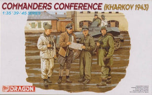 Dragon 1/35 German Commanders Conference 6144