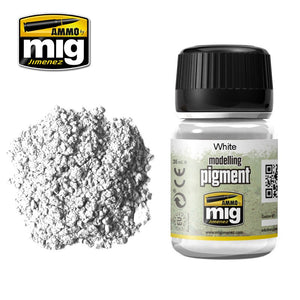 Ammo by Mig AMIG3016 Pigment, White