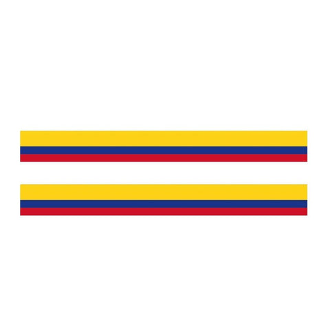 Colombian Flag Decal,  Sticker