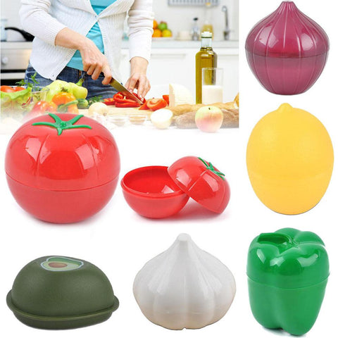 Food Savers/Vegetable Containers - Onion, Lemon, Pepper and others.