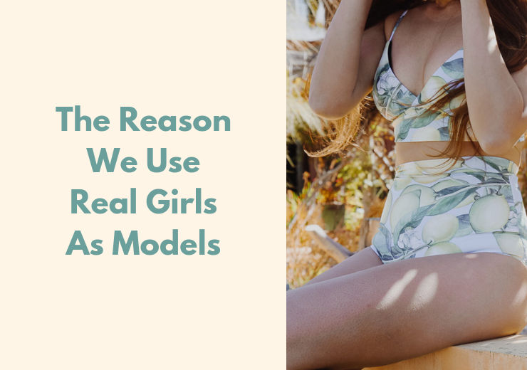 The Reason We use Real Girls As Models