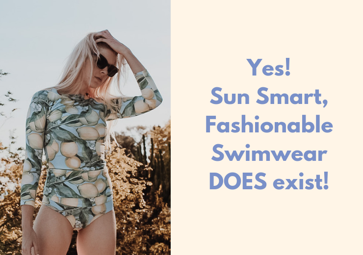 Yes! Sun Smart, Fashionable Swimwear DOES exist!