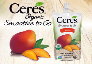 Mango Smoothie To Go - Ceres Organics