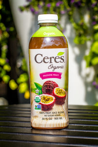 Passion Fruit Organic Juice - Ceres Organics