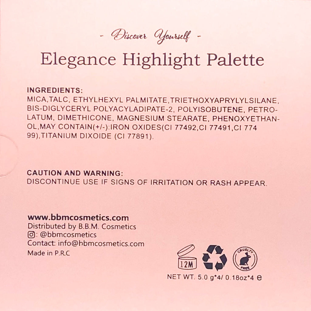 Elegance Highlight Palette