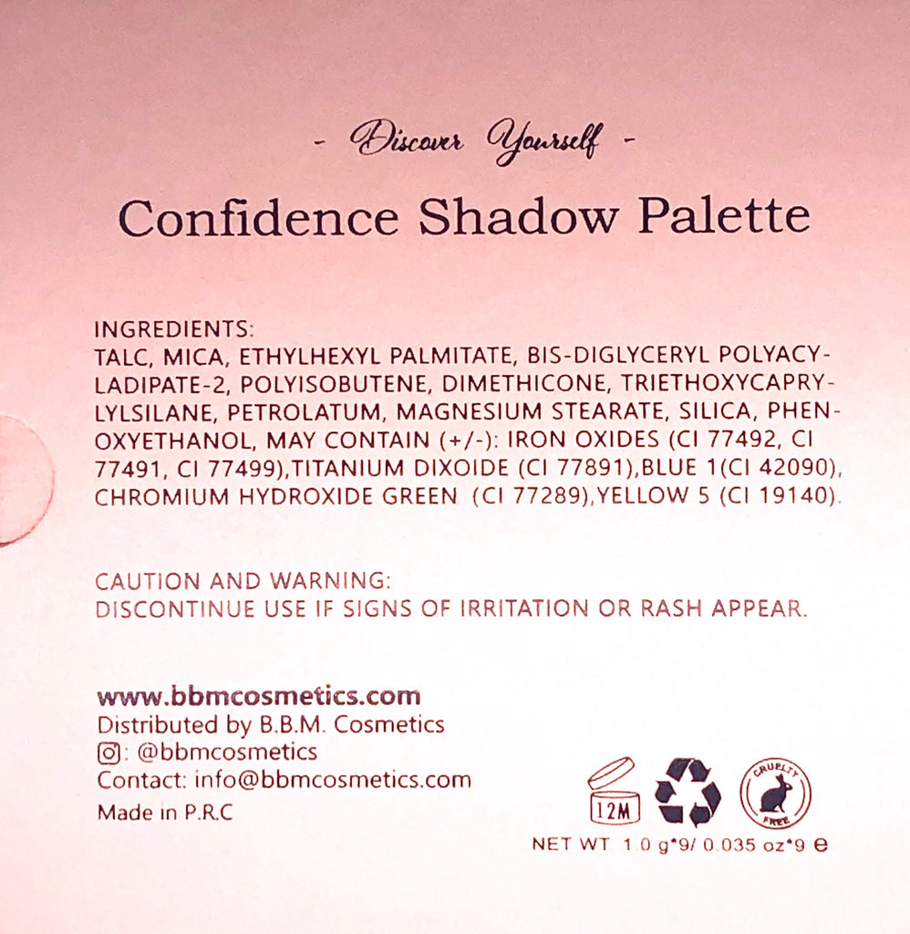Confidence Shadow Palette