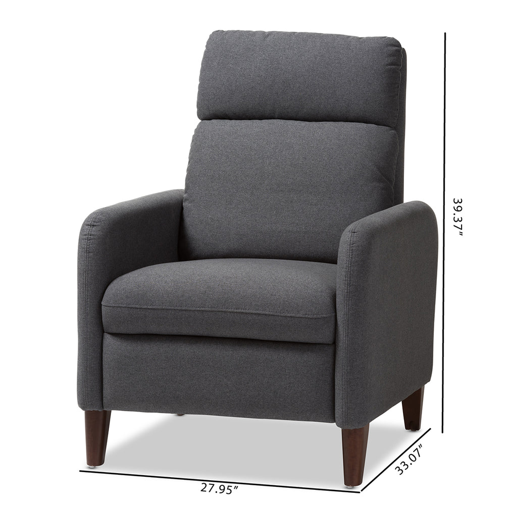 Coley Gray Lounge Chair