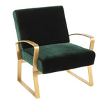 Rhapsody Emerald Chair