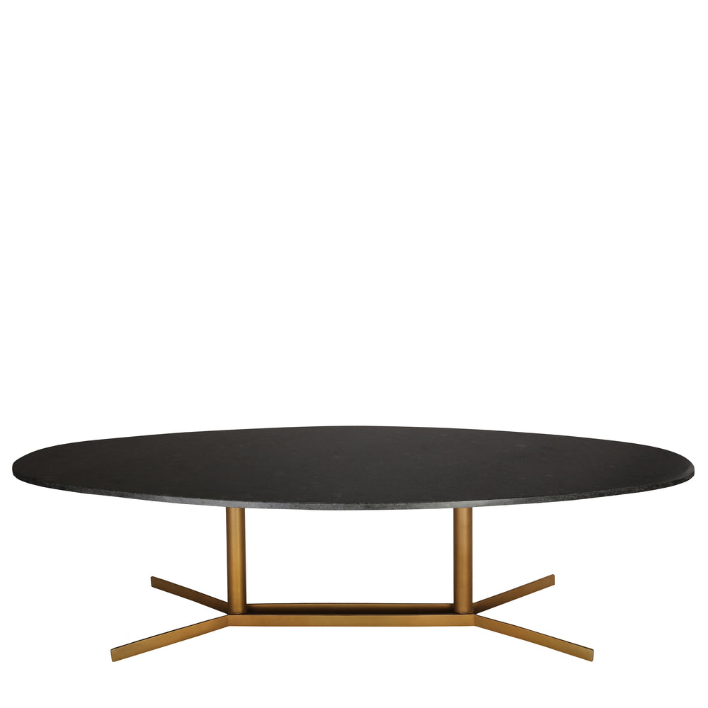 Cliff Black Marble Coffee Table