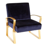 Rhapsody Royal Blue Chair