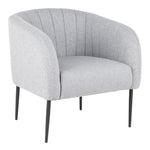 Bartram Light Gray Fabric Chair