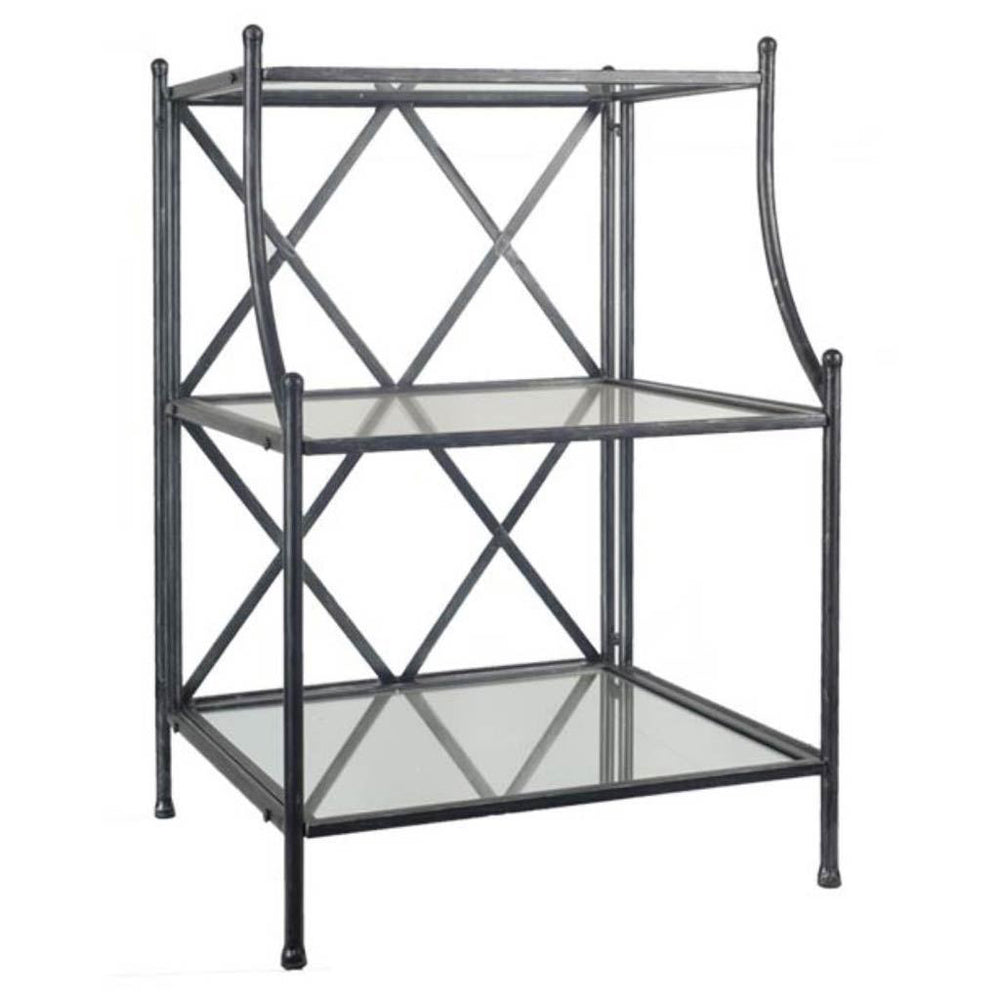 Savona Black Accent Table