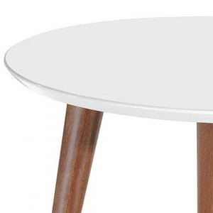 Simone Mid White Coffee Table