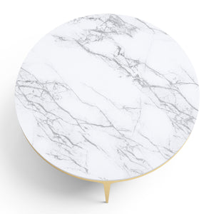 Tocci Round Marble Table