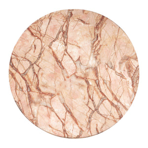 Tazzo Blush Marble End Table