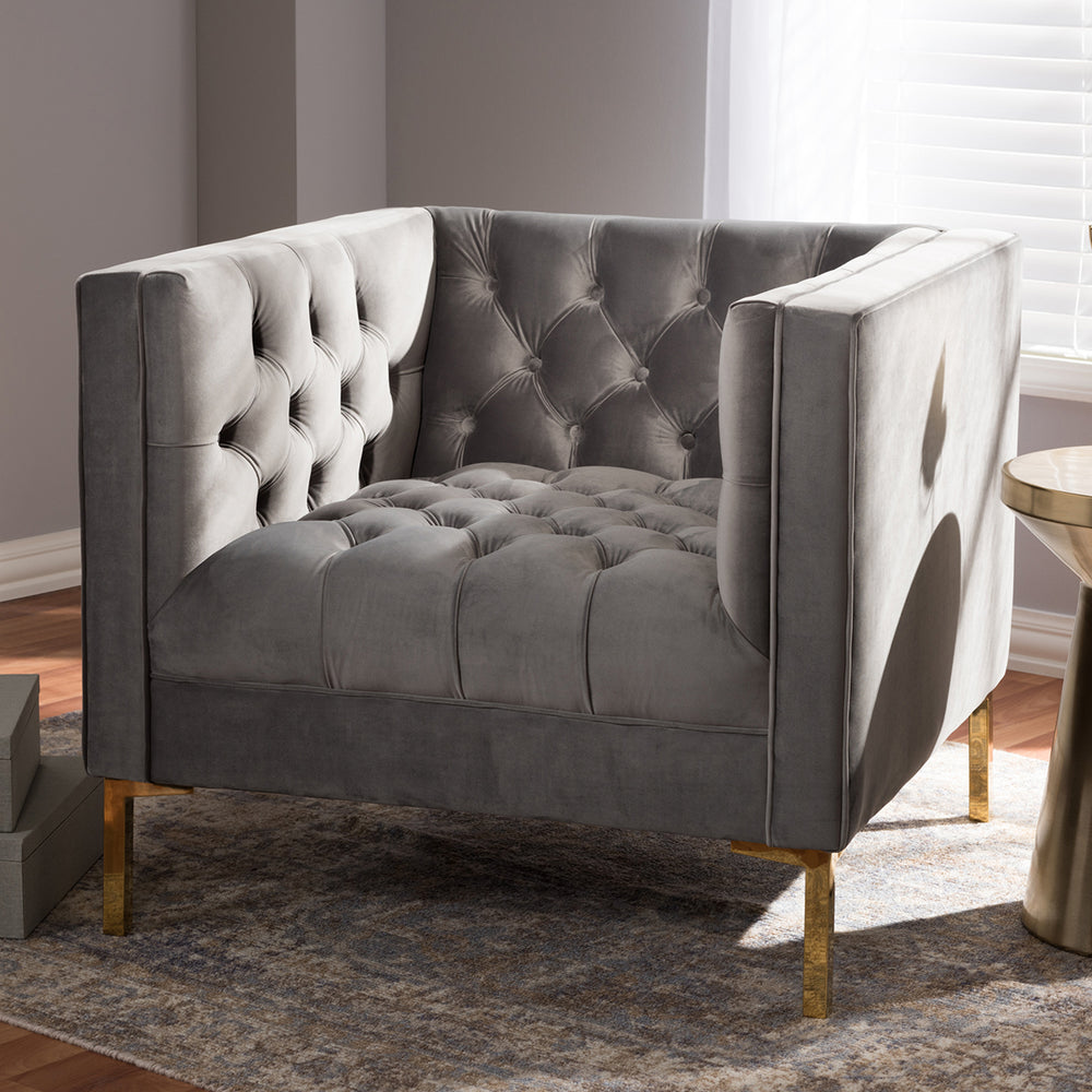 Quinn Light Gray Chair
