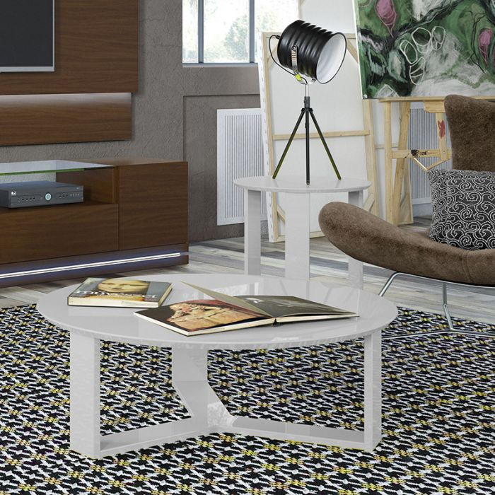 Serina White Coffee Table