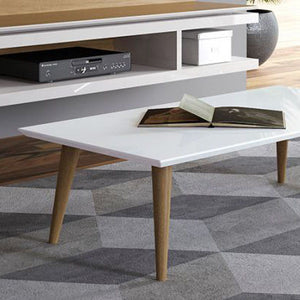 Craig White Coffee Table