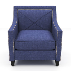 Brinkley Royal Blue Chair
