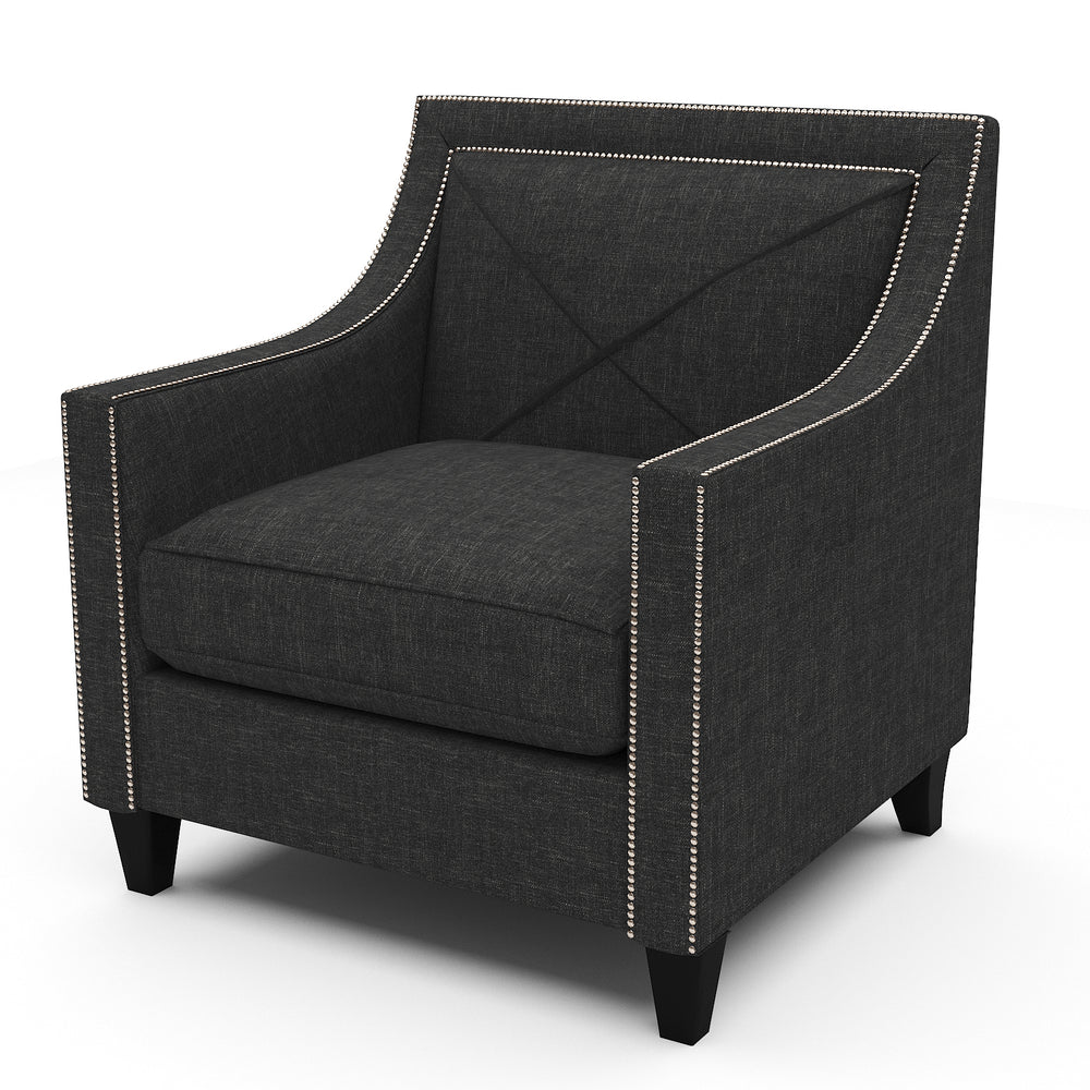 Brinkley Charcoal Chair