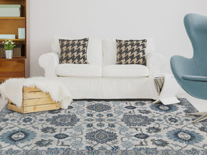 Lily Ivory BLO-16 Rug