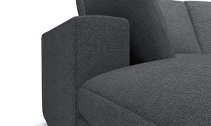 Blythe Gray Left 4-Piece Sectional