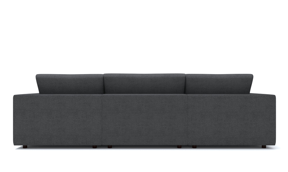 Blythe Gray Right 4-Piece Sectional
