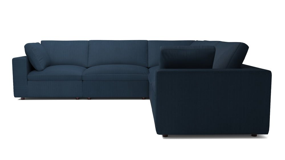 Blythe Azure 5-Piece Sectional